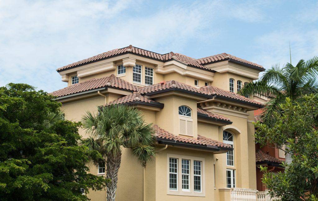 South Florida modern villa house