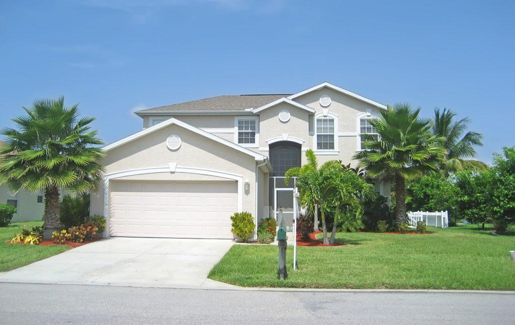 Upscale Suburban Tropical Home